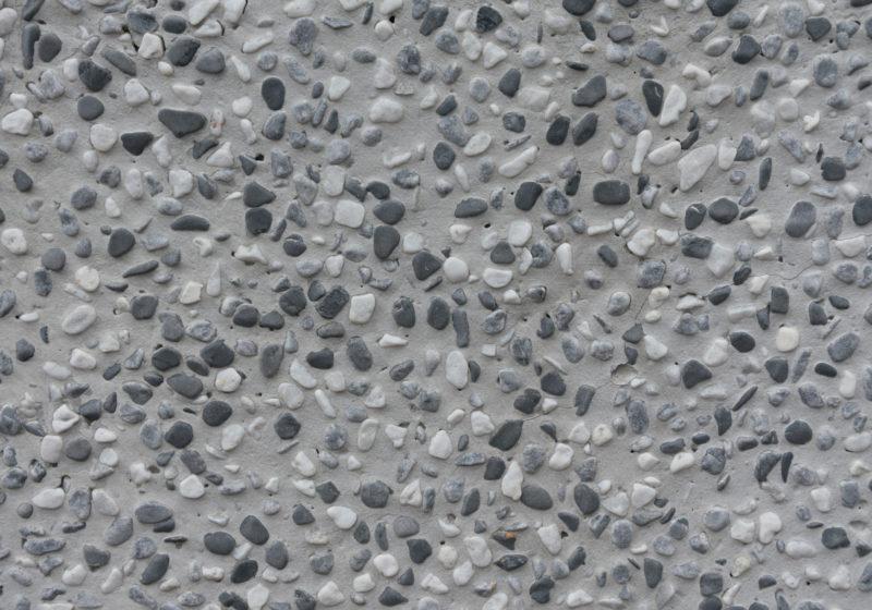 stones in cement
