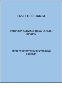 Case for change Real Estate