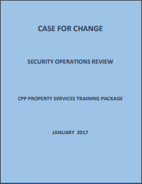 Case for change Security Operations