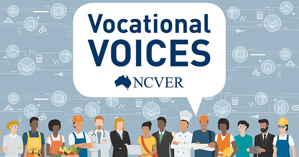 NCVER Vocational Voices Podcast