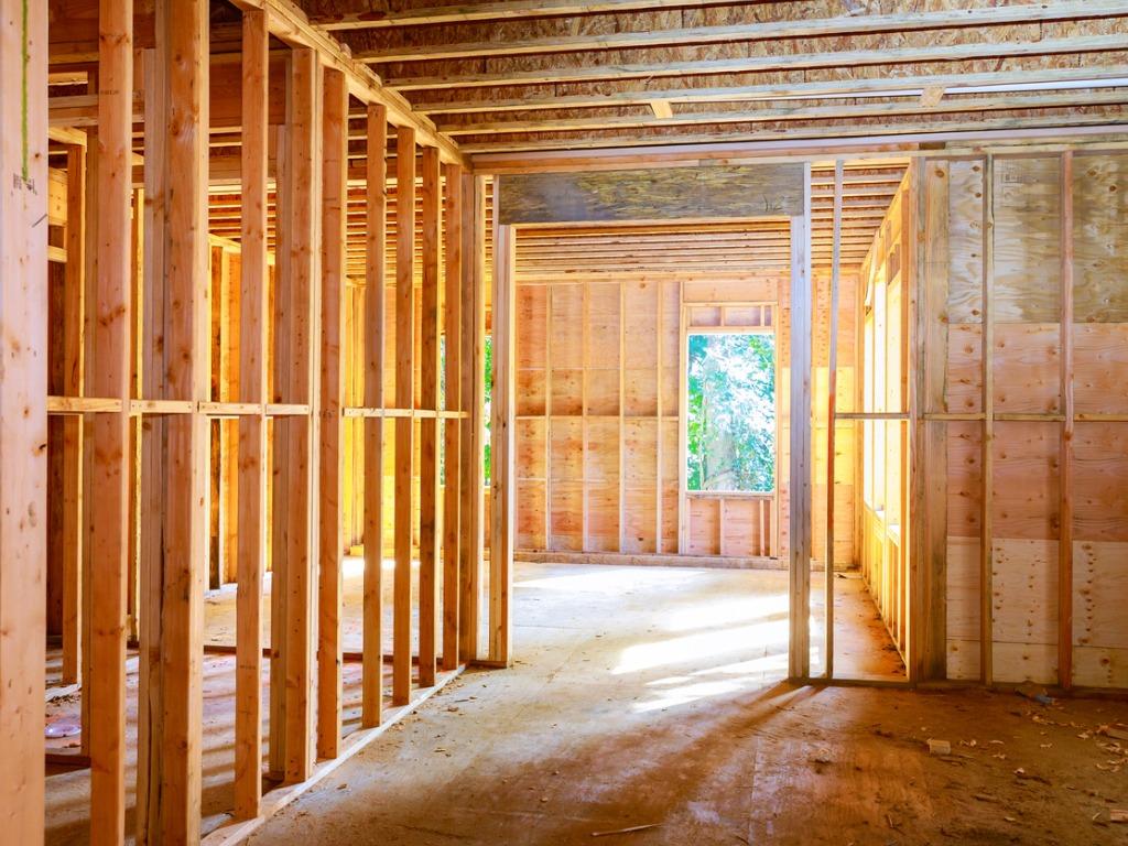 interior under construction